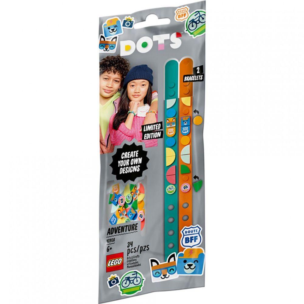 樂高 LEGO - 樂高積木 LEGO《 LT41918 》DOTS 系列 豆豆手環 - 動物冒險記-34pcs