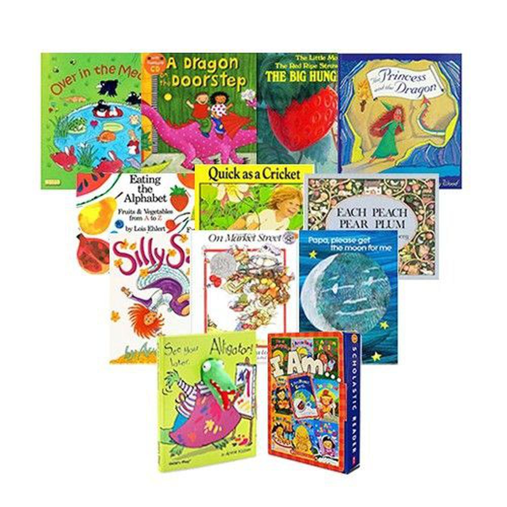 麥克兒童外文書店 - (免運)『用有聲書輕鬆聽出英語力』第27~40週書單-12書+12CD