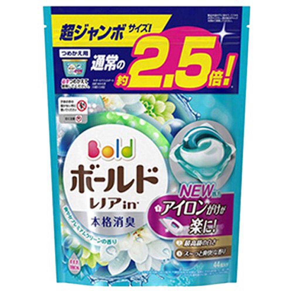 日本 P&G - 2019最新版-洗衣膠球-桂花清香-44顆入/袋(849g)