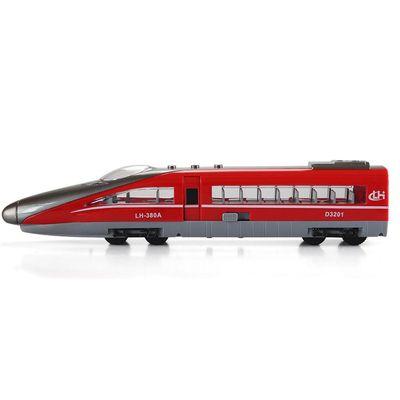 小小鐵道迷-磨輪聲光高速火車-紅色