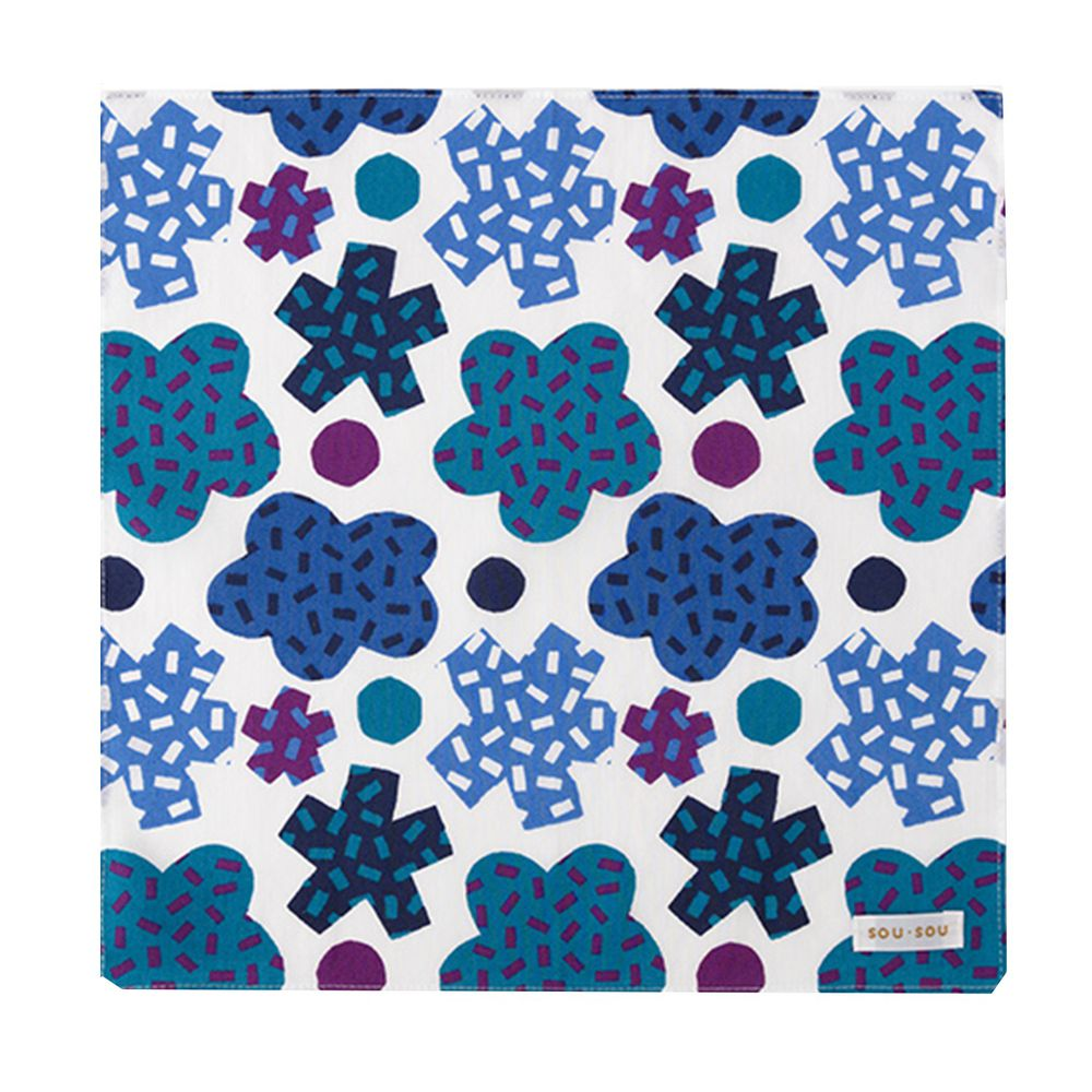 日本代購 - 【SOU·SOU】日本製今治純棉紗布手帕-金平糖 (30x30cm)