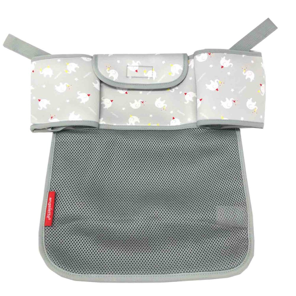 akachan honpo - angelette嬰兒車用收納袋-灰色