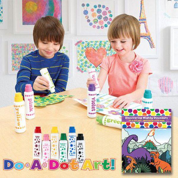美國幼兒園愛用!❤【Do A Dot Art 點點畫筆】水洗超簡單!