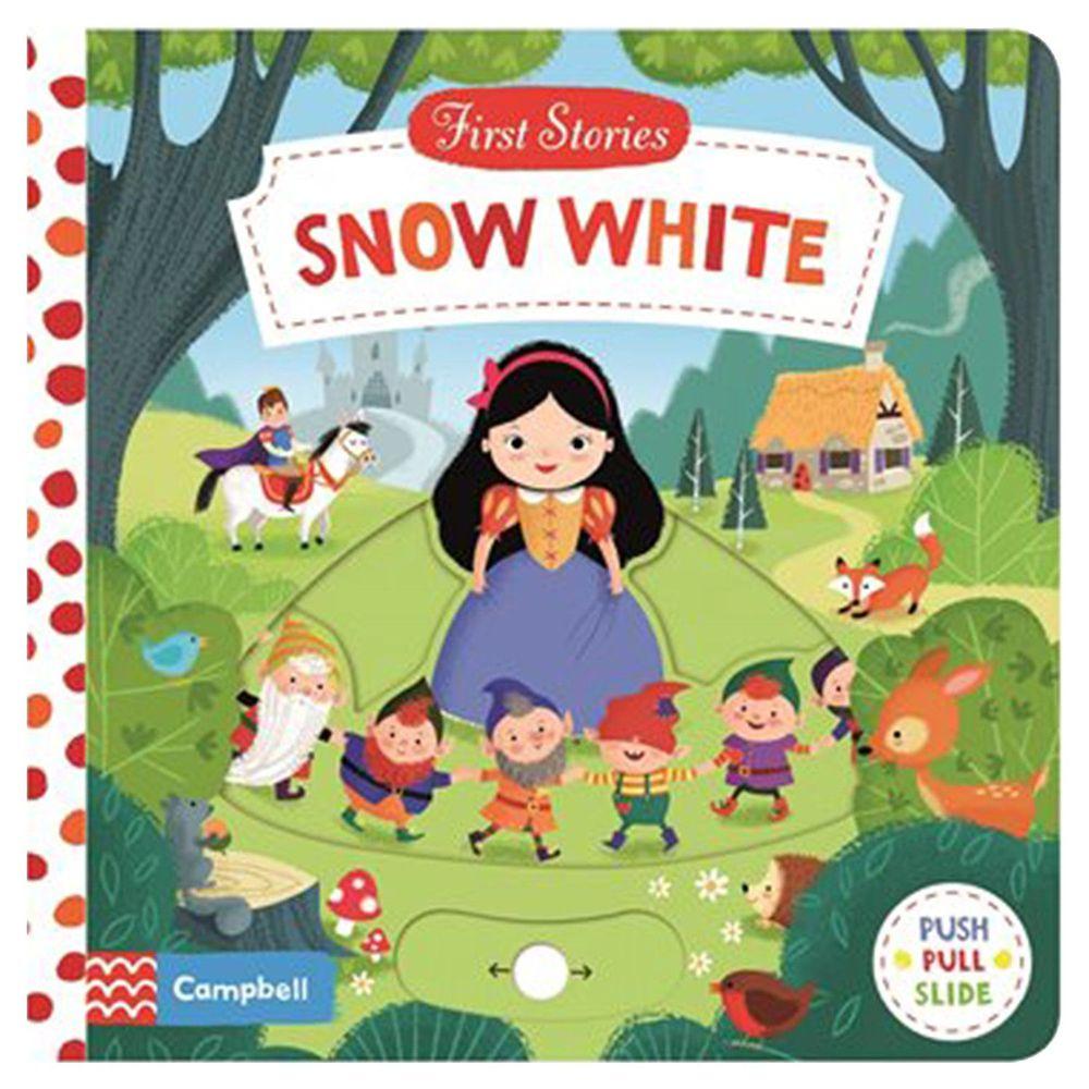 Macmillan - First Stories 操作硬頁書-Snow White 白雪公主-彩色