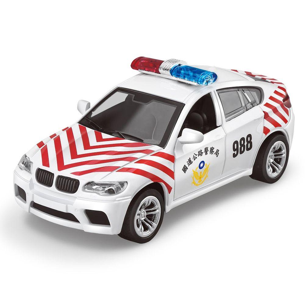 樂彩森林 - 聲光迴力警務用車-國道警車-迴力