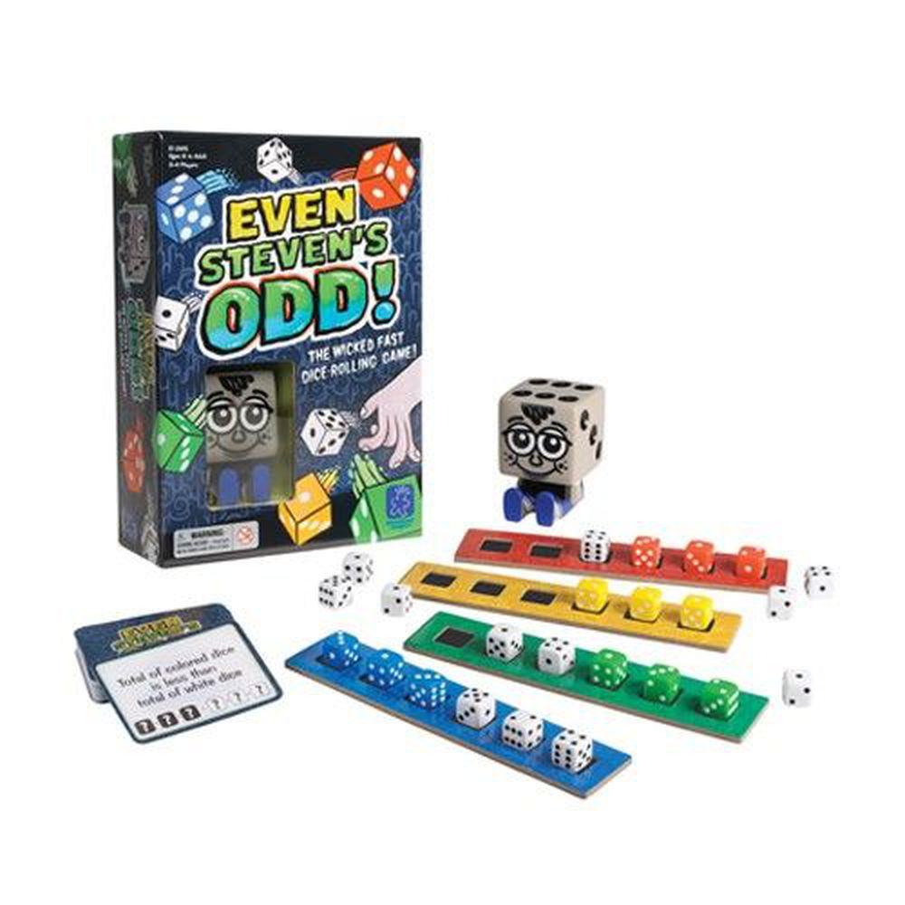 美國 Educational Insights - 親子互動桌遊-骰子先生搶奪戰