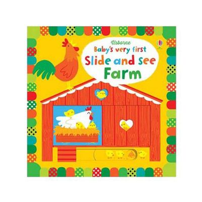Baby's Very First Slide and See Farm (Baby's Very First Books) 寶寶的第一本遊戲操作書:農場