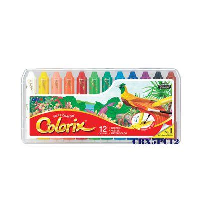 12色粗款神奇水蠟筆