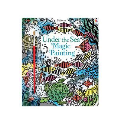 沾水著色書-Under the Sea