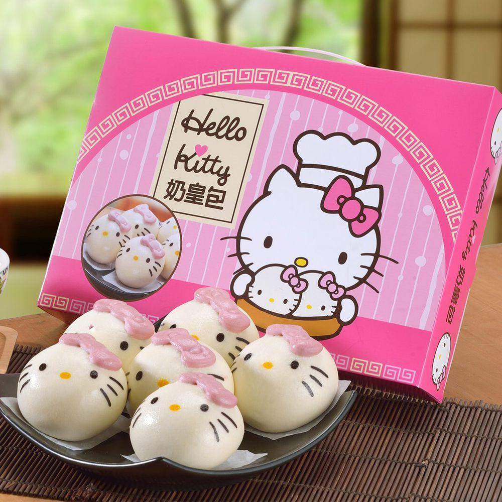 艾酷奇 - Hello Kitty 奶皇包禮盒 (6入/盒)-65g±5%