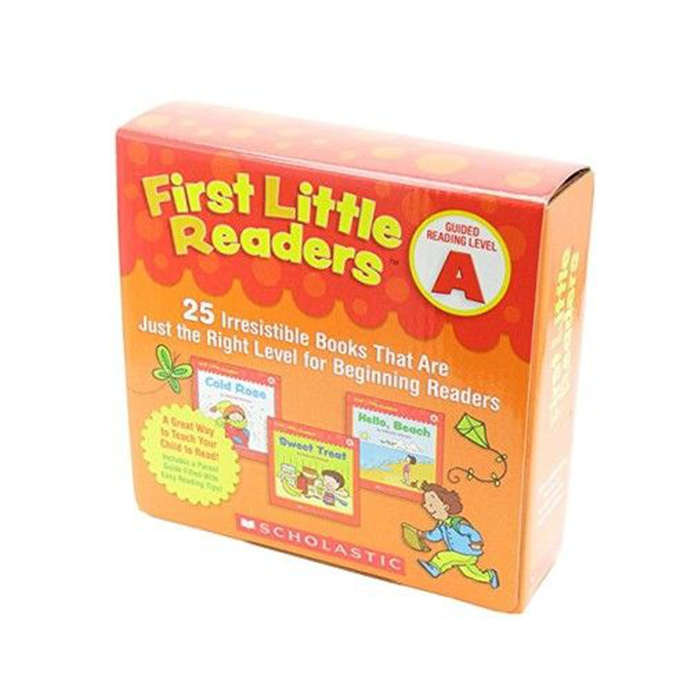 我的第一套小小閱讀文庫First Little Readers Level A-書+CD