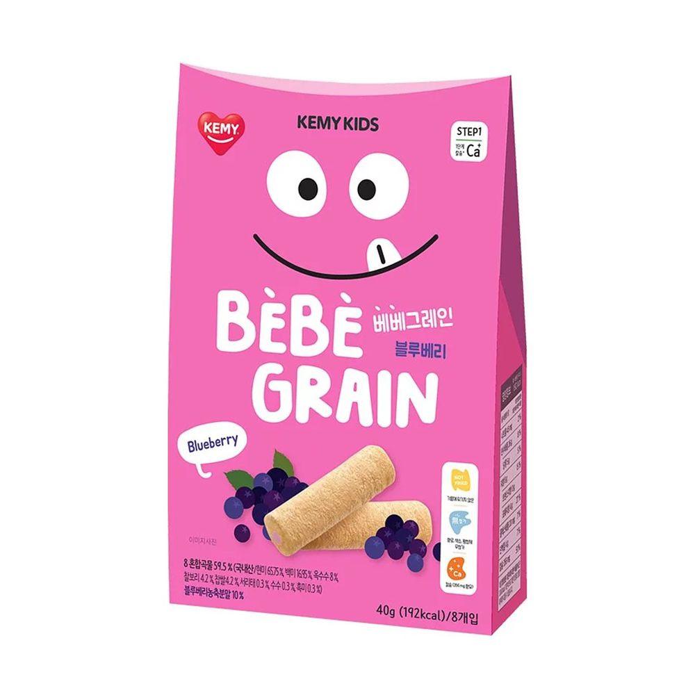 KEMY KIDS - 貪吃凱米 穀物小捲心-藍莓