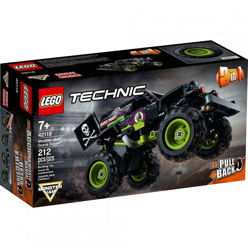樂高 LEGO - 樂高積木 LEGO《 LT42118 》科技 Technic 系列 - 怪獸卡車-Grave Digger-212pcs