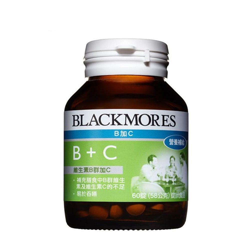BLACKMORES 澳佳寶 - B+C (60錠)