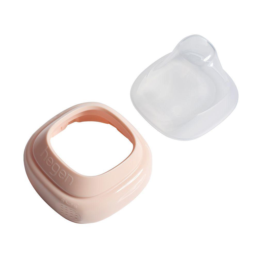 hegen - 小山丘替換奶瓶環蓋組-嫣粉