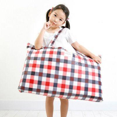 防水睡袋收納袋-經典格紋-紅