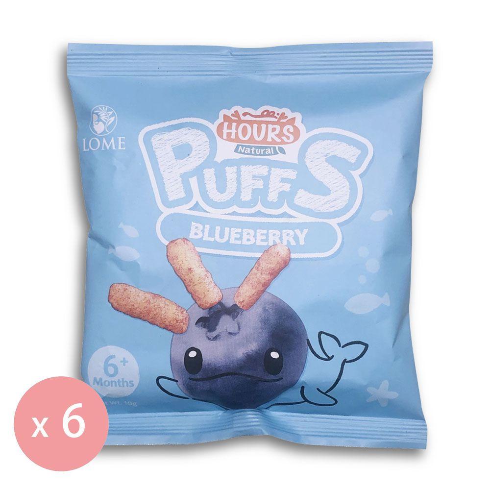 皮皮奧斯 - 生機泡芙條(藍莓)10g-6包-10gx6包