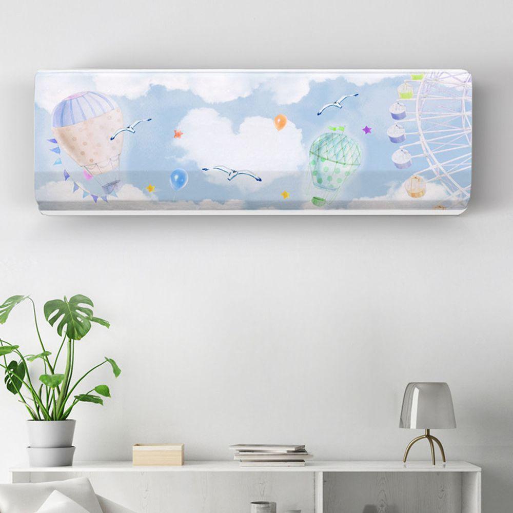 家用冷氣防塵罩-夢幻摩天輪