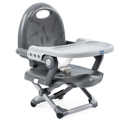Pocket snack攜帶式輕巧餐椅-星燦灰