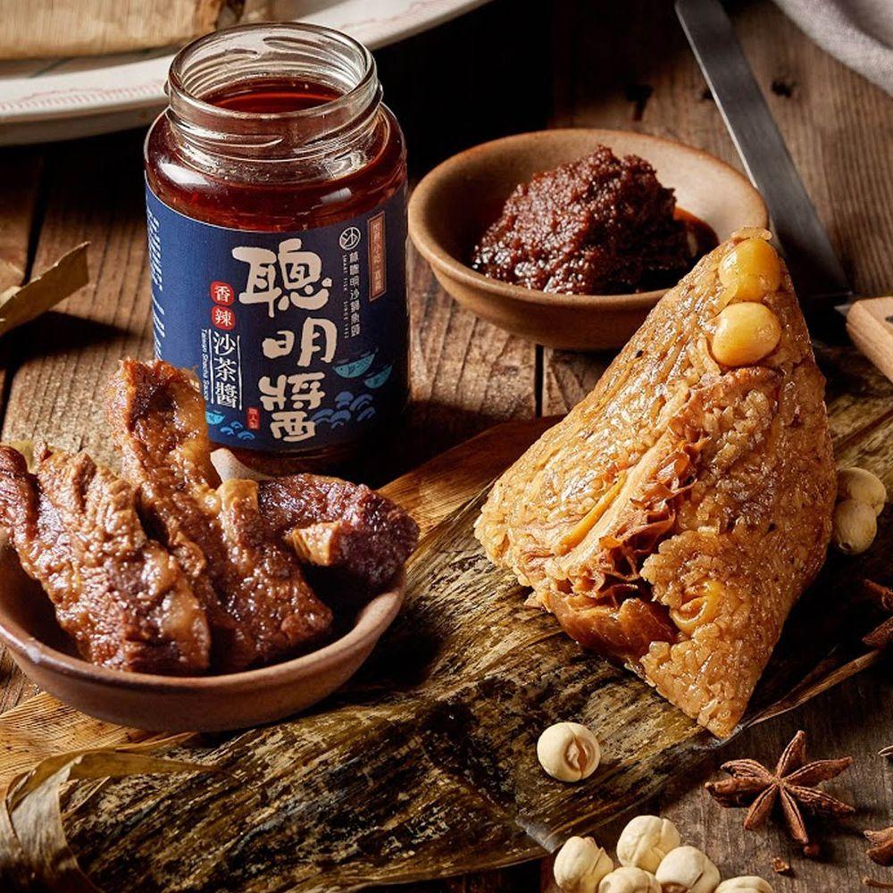 美福飯店 - 美福聰明牛三寶粽1入-220g/顆