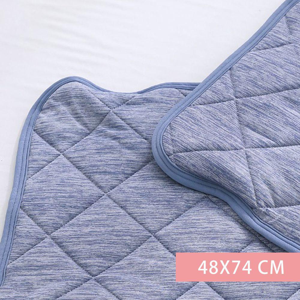 鴻宇 HONGYEW - SUPERCOOL接觸涼感/-5度C瞬涼可洗/抗菌枕頭保潔墊-藍 (48X74 CM)