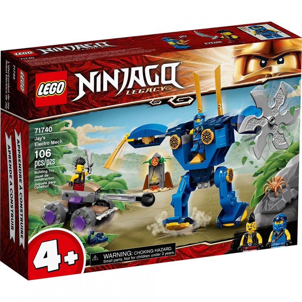 樂高 LEGO - 樂高積木 LEGO《 LT71740 》 NINJAGO 旋風忍者系列 - 阿光的電氣機器人-106pcs