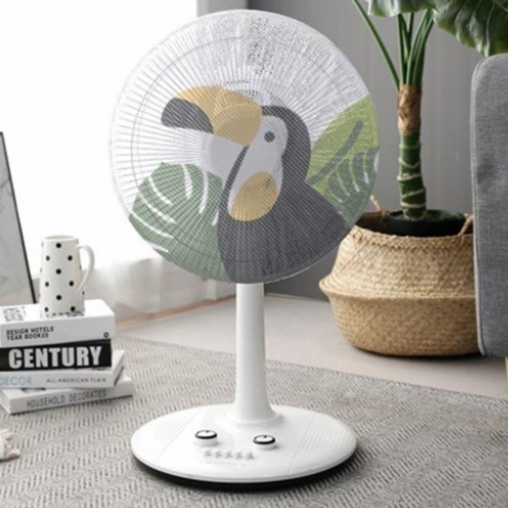 韓國 Bebe Deco - 電風扇安全網套-叢林鸚鵡
