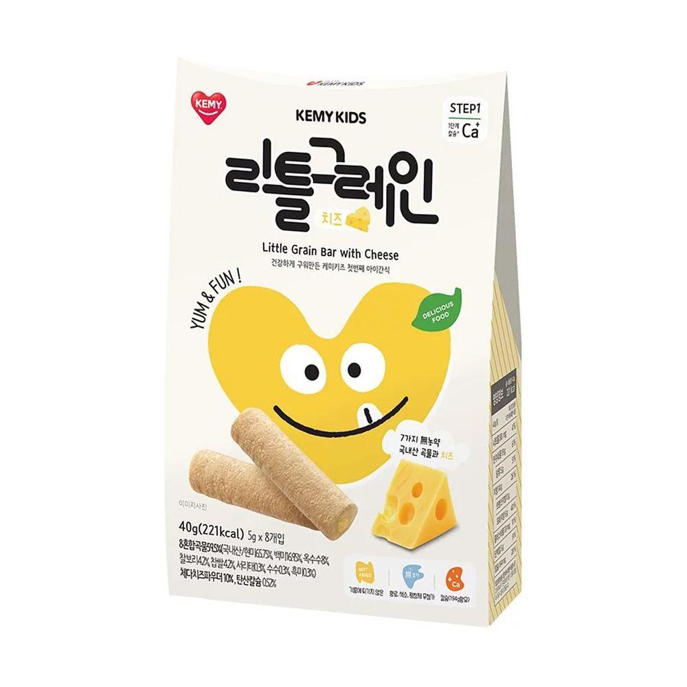 KEMY KIDS - 貪吃凱米 穀物小捲心-起司