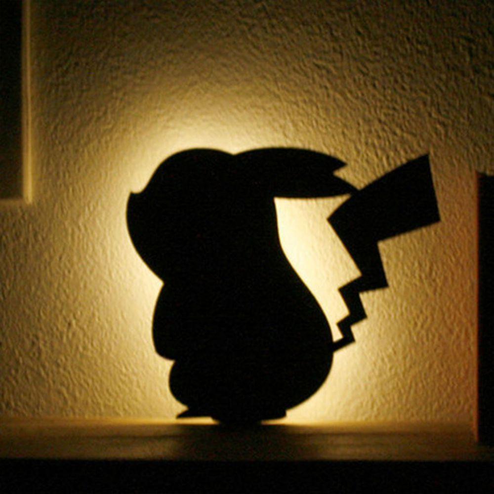 日本 TOYO CASE - 日本製 LED 夜燈壁飾-皮卡丘