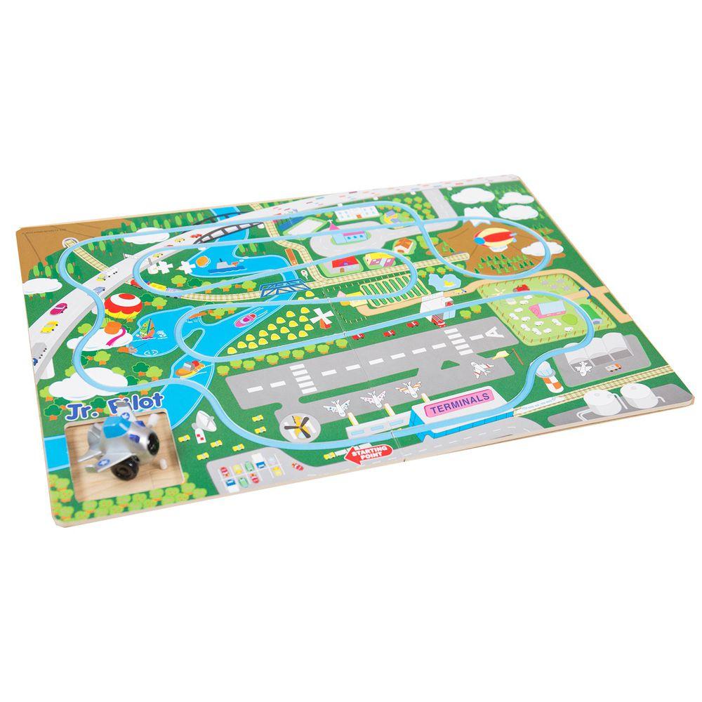 酷樂開發 - Track Board發條軌道車-飛機