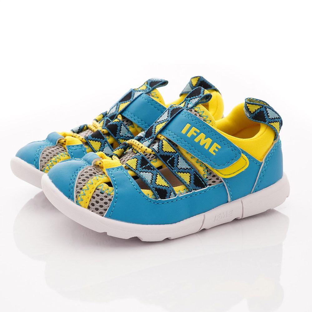 IFME - 機能童鞋/涼鞋-輕量織帶水涼鞋款(中小童段)-黃藍