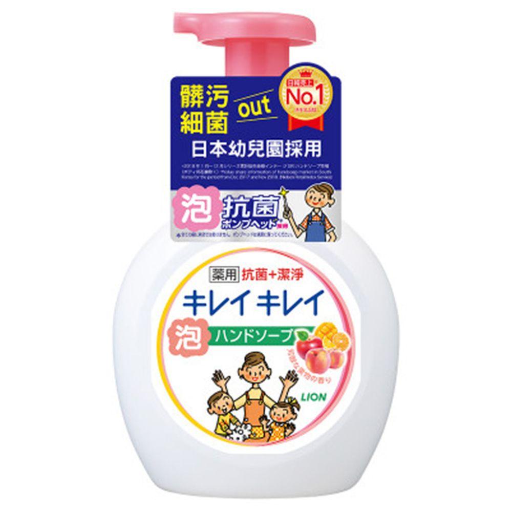 日本 LION - 日本獅王趣淨洗手慕斯-清新果香