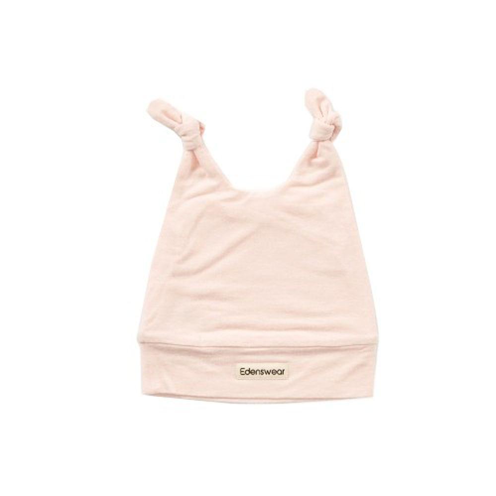 Edenswear 伊登詩 - 鋅纖維抗敏衣系列-嬰兒帽子-淺粉 (FREE)
