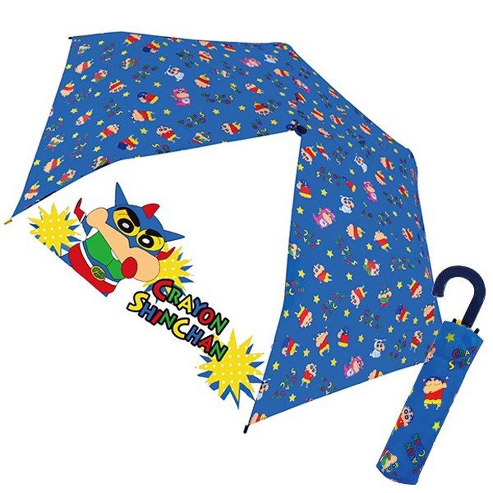 日本代購 - 卡通折疊雨傘-蠟筆小新動感超人 (53cm(125cm以上))