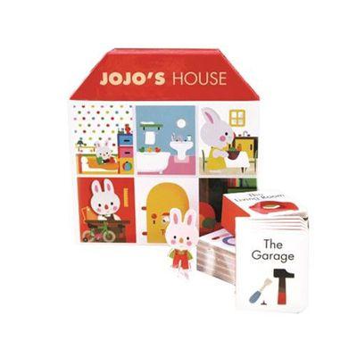 JOJO'S HOUSE Jojo的迷你小屋(含6本口袋厚頁書)