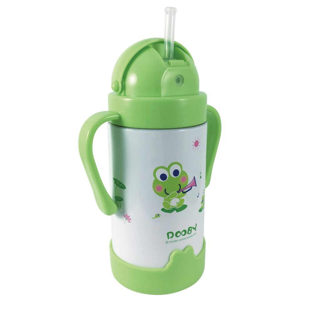 DOOBY 大眼蛙 - 神奇保溫喝水杯-260cc-綠色