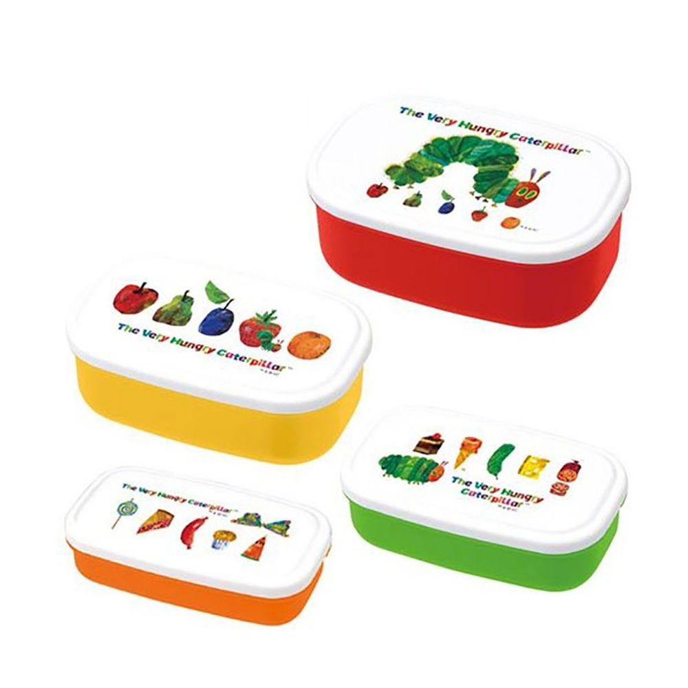 上誼文化 - 好餓的毛毛蟲餐盒(四入一組-可微波)-經典系列