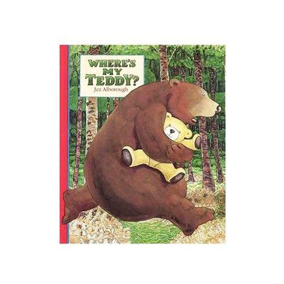 有聲書-WHERES MY TEDDY/書+CD