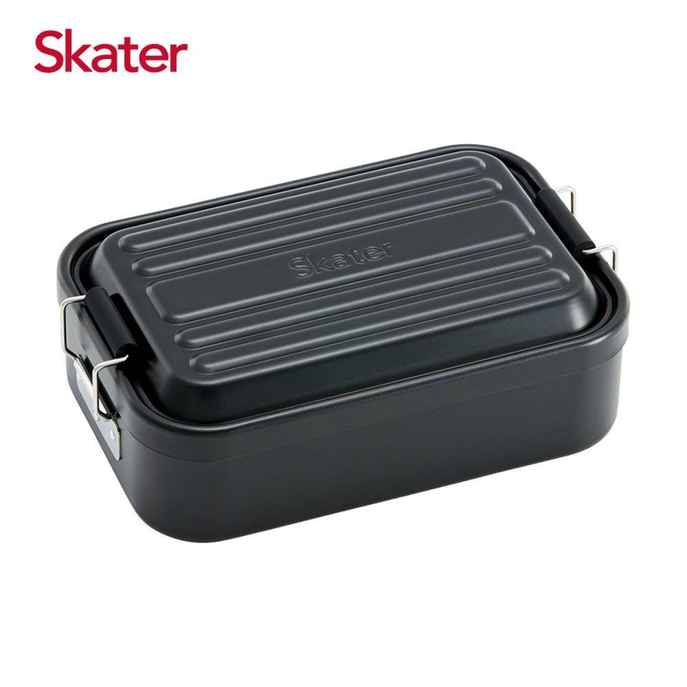 日本 SKATER - 行李箱便當盒-黑