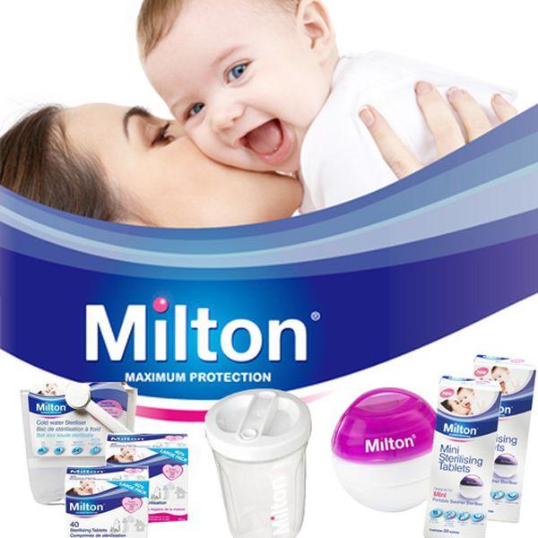 【英國米爾頓】嬰幼兒專用次氯酸消毒錠 / 奶嘴消毒球 / 專用噴霧瓶