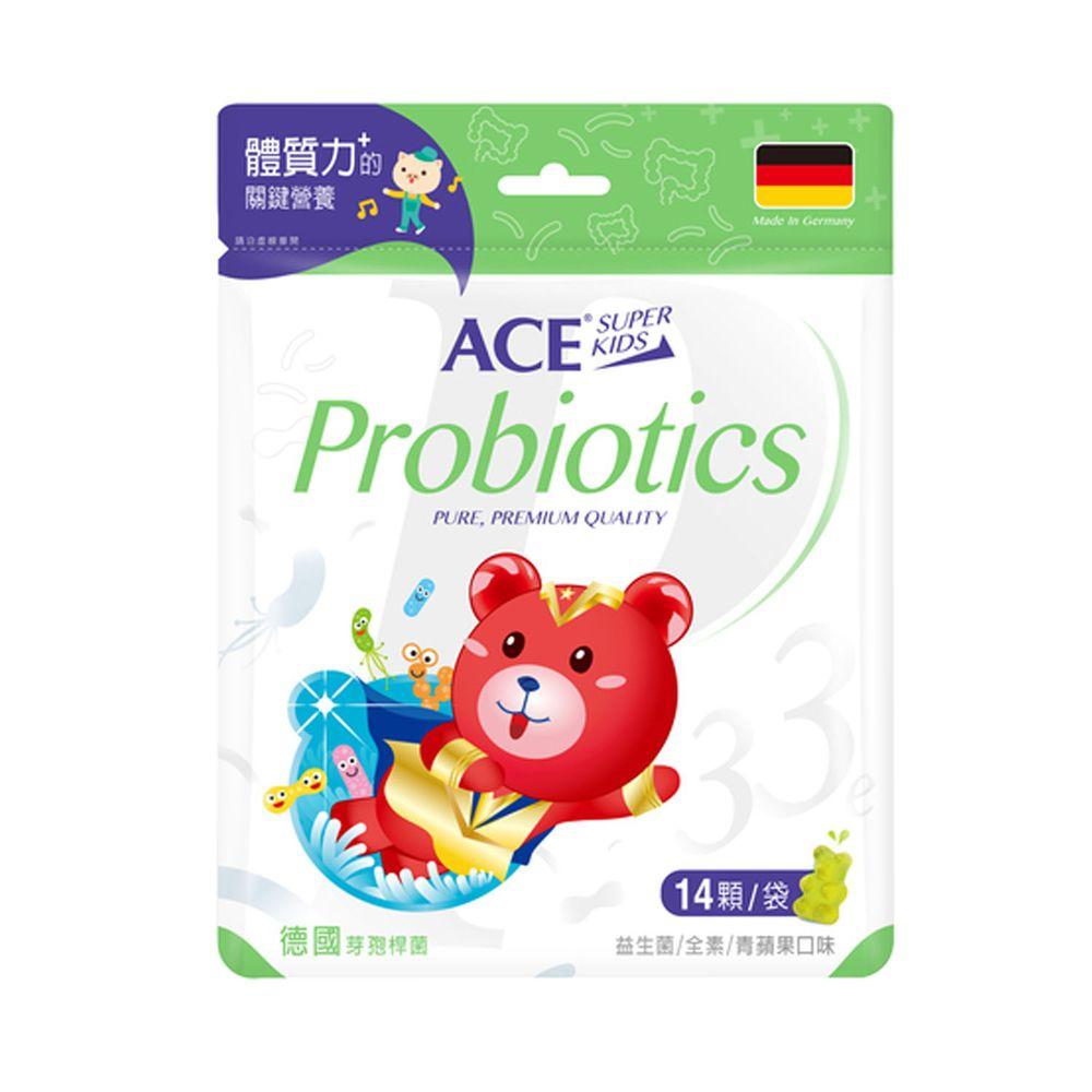 ACE - ACE SUPER KIDS 33e益生菌軟糖(14顆/袋)-39.2公克/袋