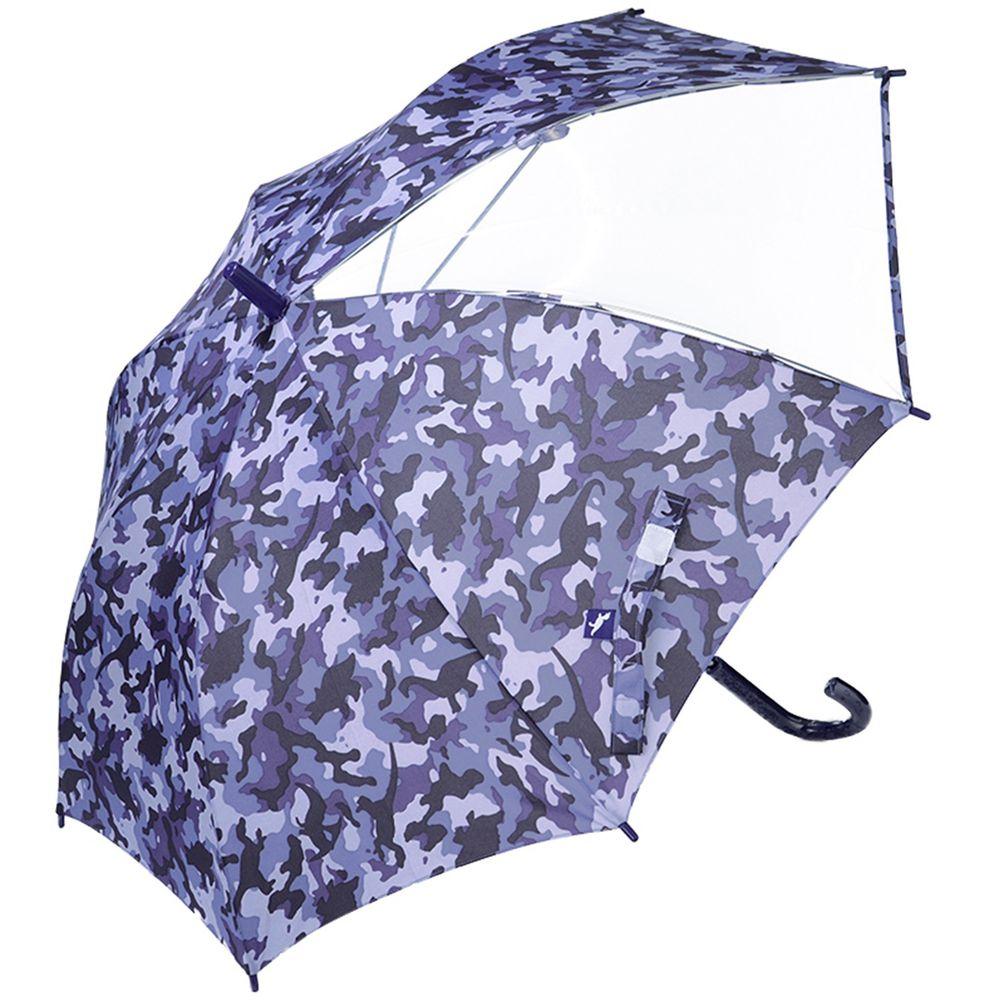 akachan honpo - 傘-迷彩-藍色 (50cm)