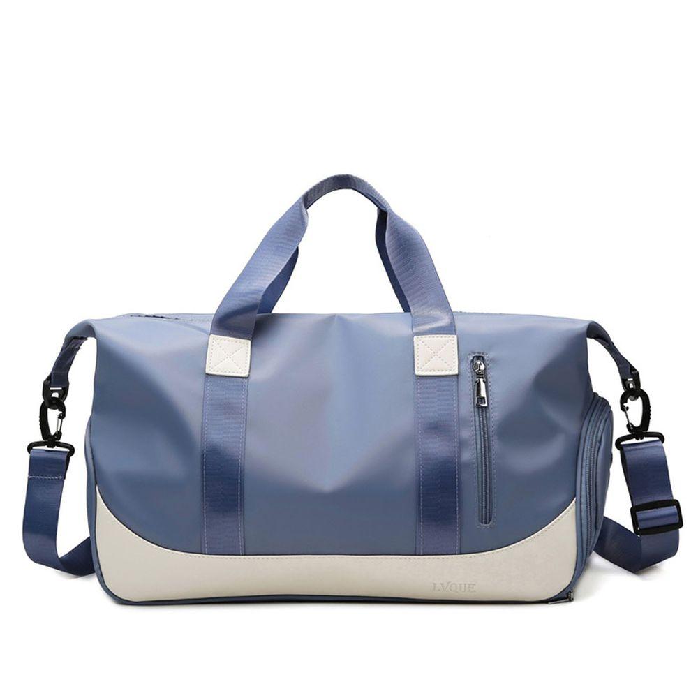 oonir - 乾濕分離旅行運動包-深藍色