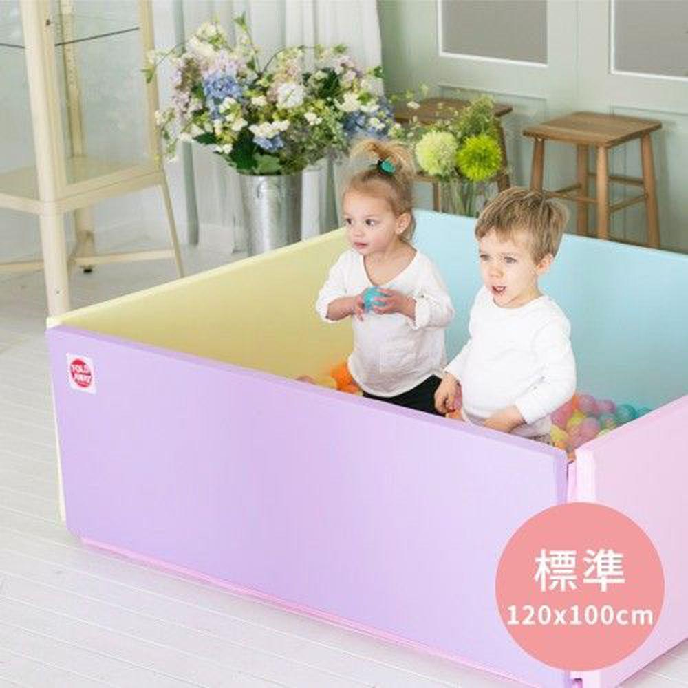 韓國 Foldaway - 安全遊戲城堡圍欄-標準款-Vitamin維他泡泡 (120x100cm)