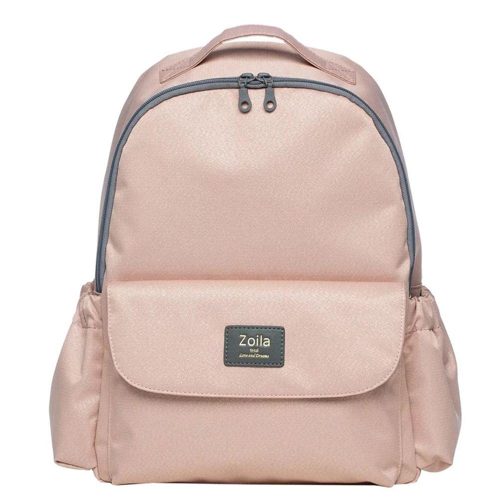 Zoila - EZ bag 後背包-閃耀粉-輕量美型媽媽包