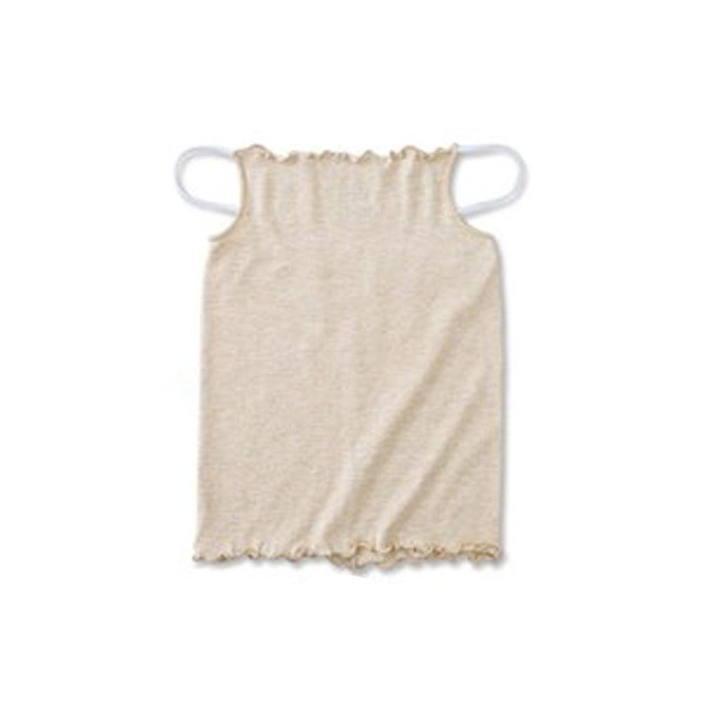 日本服飾代購 - 日本製 全方位防曬面罩 / 脖頸遮陽巾-杏色