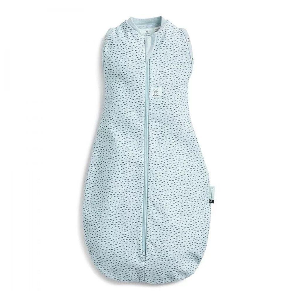 澳洲 ergoPouch - ergoCocoon二合一舒眠包巾-竹纖維-沖繩藍