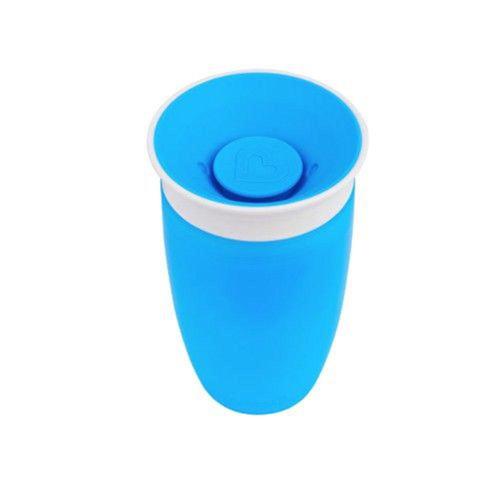 美國 munchkin - 360度防漏杯296ml-藍 (12M+)