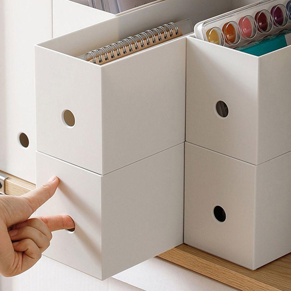 日本霜山 - 10cm面寬隙縫可疊式分類收納盒 (高12cm)-3入