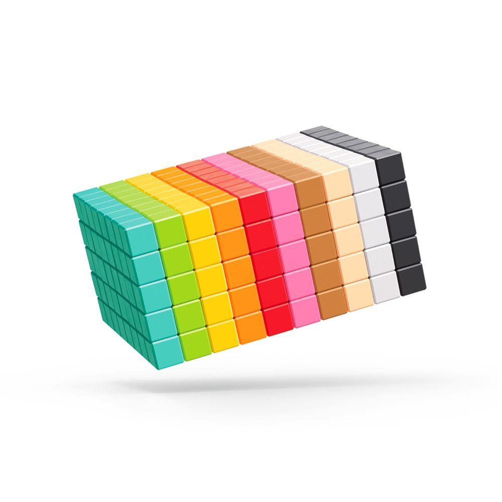 美國 Pixio - 磁力像素小魔方-設計系列-創意400